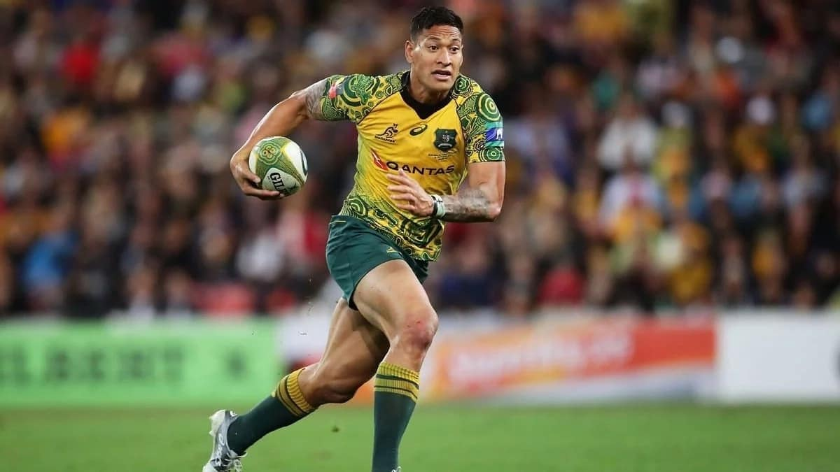 Australian rugby star Folau in trouble over comment condemning gay people to hell