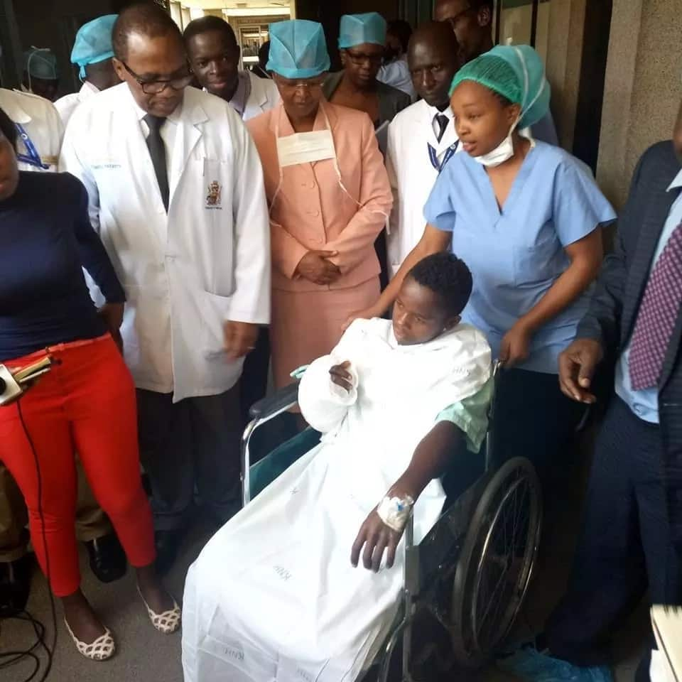 Doctors at KNH reattach 17-year-old Kiambu man's arm that was stored in cool box