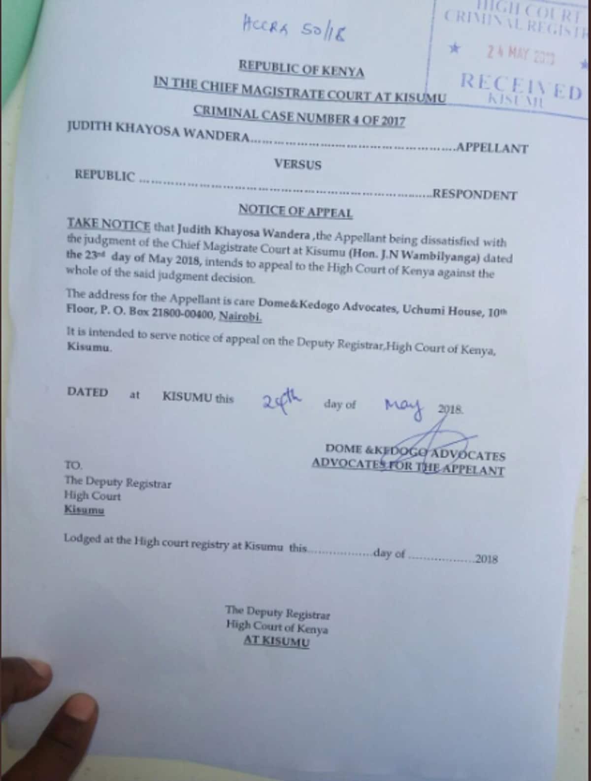 Mwanamke aliyehukumiwa kifungo cha miaka 15 kwa kushiriki ngono na kijana mdogo apinga hukumu huo