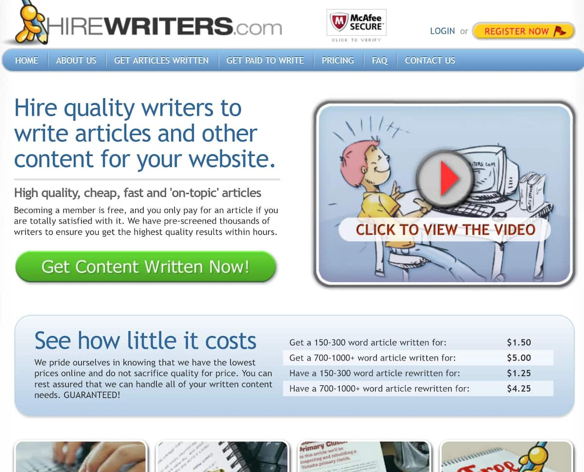 List of Sites like iWriter