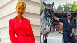 Huddah Monroe spotted hanging out with TZ singer Juma Jux