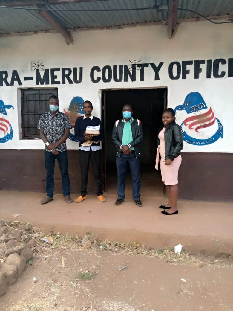 Young city lawyer Riziki, fellow youths launch NRA political party to steer country to right direction