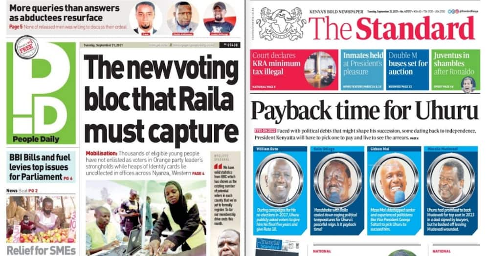 Kenyan Newspapers Review.