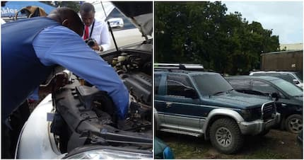 KRA official steals impounded car's engine, bribes guards with KSh 10,000