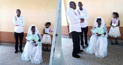 Couple says 'I Do' at Thika hospital after bride delivers bouncing baby boy