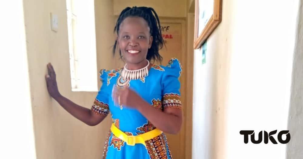 Lorna Chumo was born in a family of eight children. Photo: Jackline Chepkoech/TUKO.co.ke.