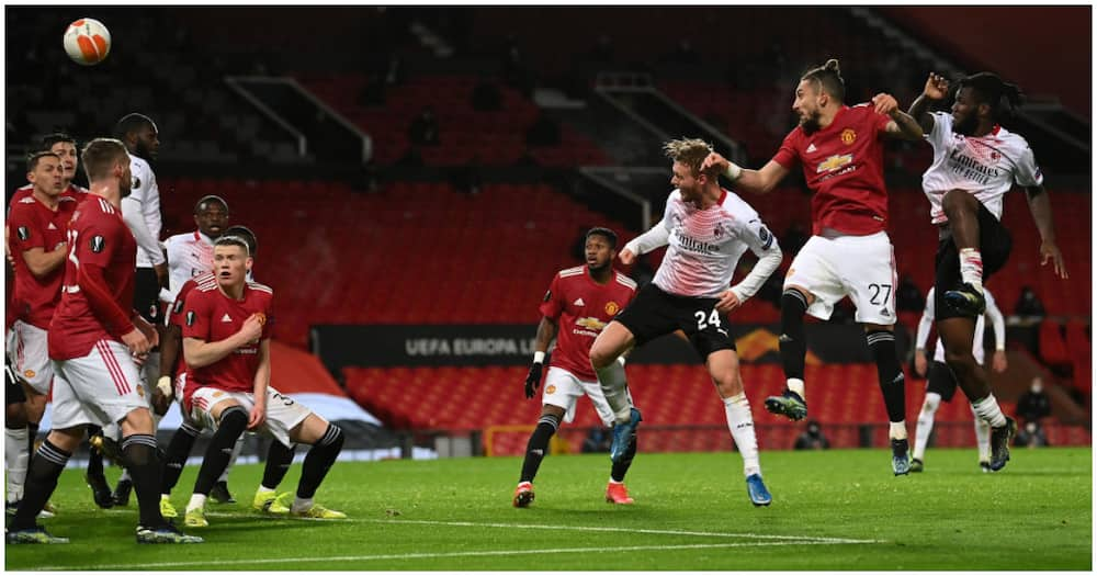 Europa League: Amad Diallo opens Man United goal account but AC Milan scores late to snatch draw