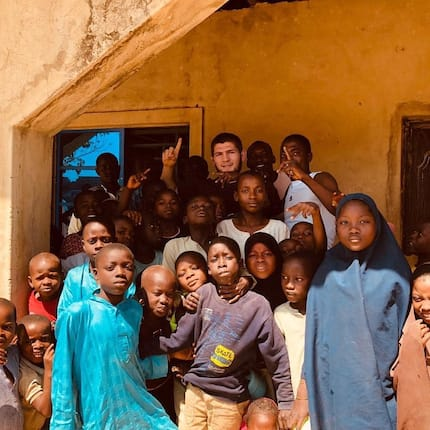UFC champion Nurmagomedov begins charity mission in Nigeria to give clean water