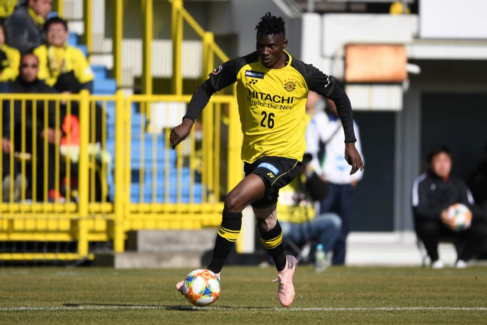 Michael Olunga nets first Japanese hat-trick to go top on scorers charts