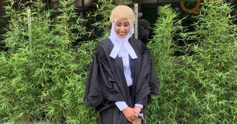 """Kenyan lady who got 9 passes in bar exam celebrates after being admitted: """"I thought I'd never make it"""