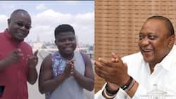 """Ghanaian YouTuber Wode Maya Expresses His Wish of Meeting President Uhuru Kenyatta: """"I Won't Charge You"""""""