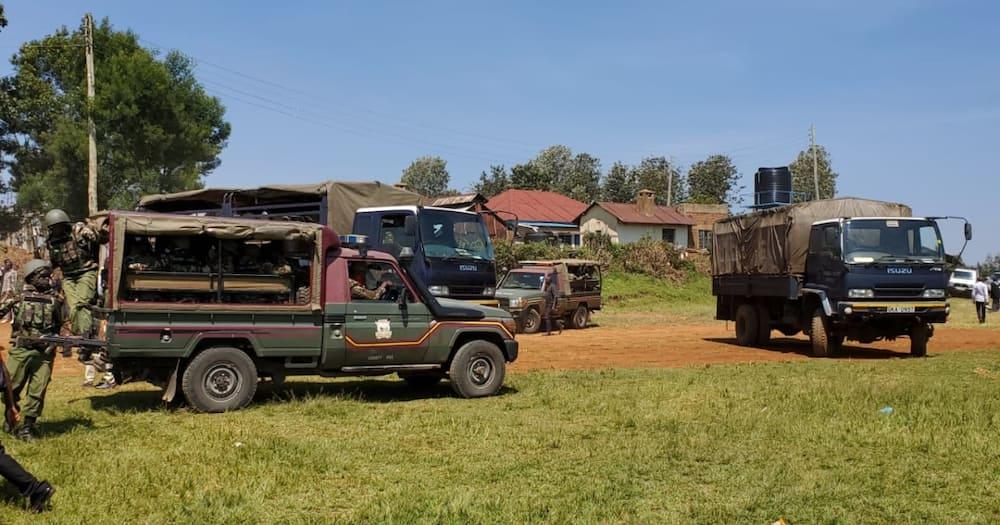 Nyamira: Polisi Wawasaka Walioangusha Vipande vya Maiti na Kuhepa