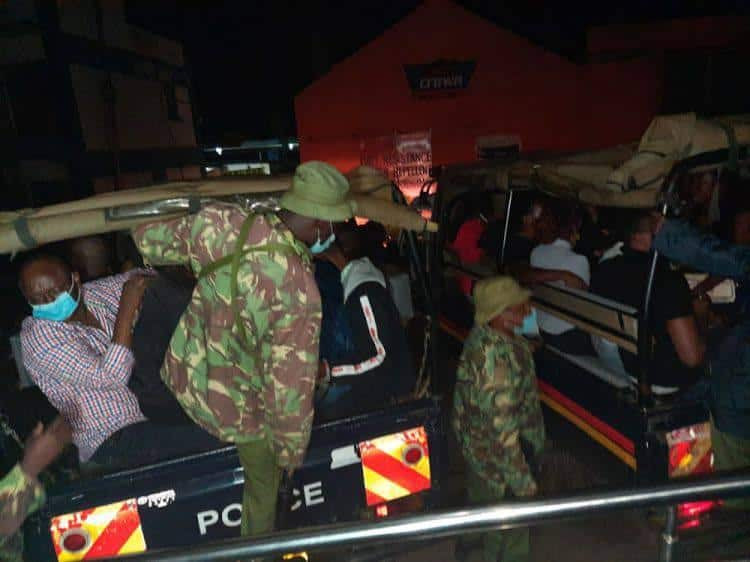 Kisumu: 5 KDF officers Arrested While Partying Past Curfew Hours