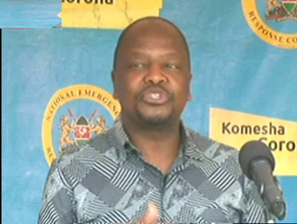 Waziri Kagwe asema wakazi wa Nairobi wafungiwe