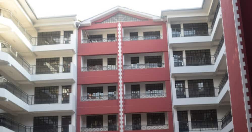 A rental building in Thindigua, Kiambu County. Photo: kiamburentals.com.