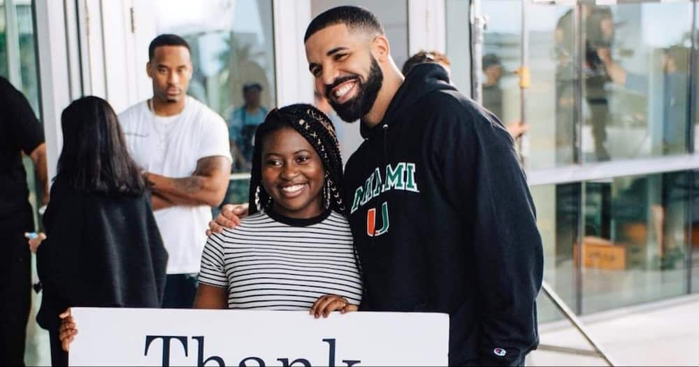 Woman Gifted K Sh 5.4m Scholarship by Drake on God's Plan Video Graduates with Master's Degree