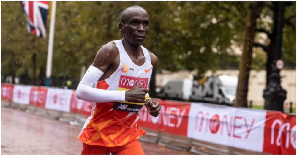 Eliud Kipchoge ashindwa kurudi nyumbani baada ya kupokonywa taji London Marathon