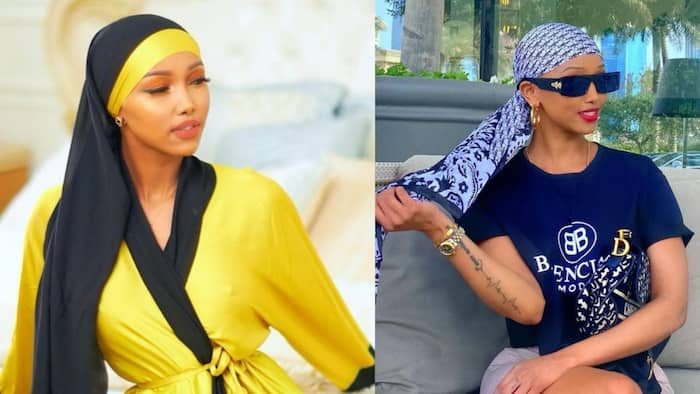 """Huddah Monroe Says She Can't Date Kenyan, Nigerian Men, Prefers French: """"Can Be Too Stingy"""""""