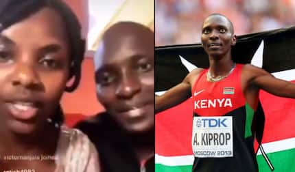 Olympic champion Asbel Kiprop in yet another video with mystery woman months after being accused of eating someone's wife