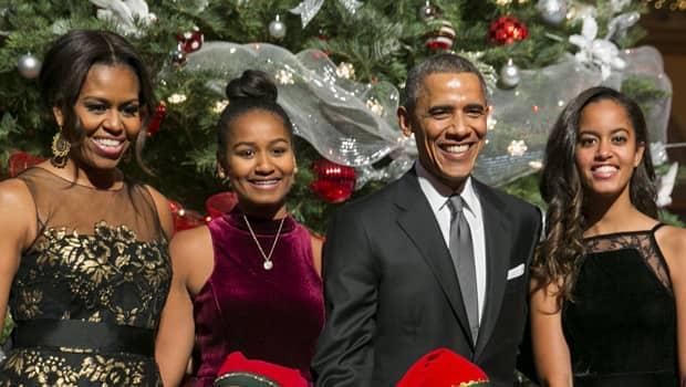 Mitchell Obama shares stunning photo of all grown-up Sasha and Malia
