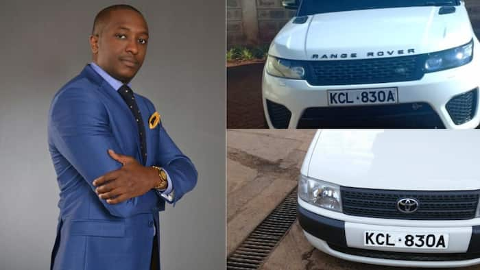 Owner of Probox with number plate similar to Steve Mbogo's luxurious car emerges
