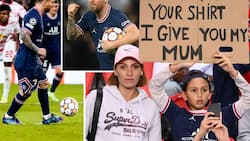 Desperate PSG fan offers Lionel Messi his mother, begs for 1 stunning thing in return in stunning banner