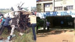 3 waangamia baada ya basi lao kugongana na gari lililokuwa limebeba kondoo