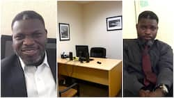 Boss 'Catches' Cleaner Taking Selfie in His Office, Offers Him Seat for Better Shots