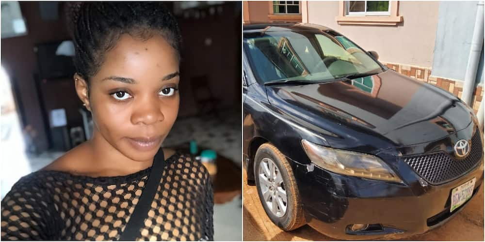 Wizkid's 1st baby mama slams people mocking her for driving Toyota Camry