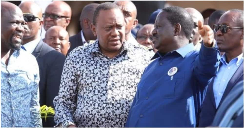 Raila kurejea Nairobi kwa mkutano wa ghafla na Rais Uhuru