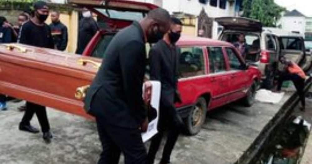 Pastor 'reburies' late George Floyd in emotional ceremony
