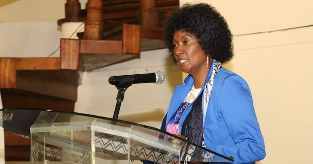 TSC boss Nancy Macharia. Photo: TSC.