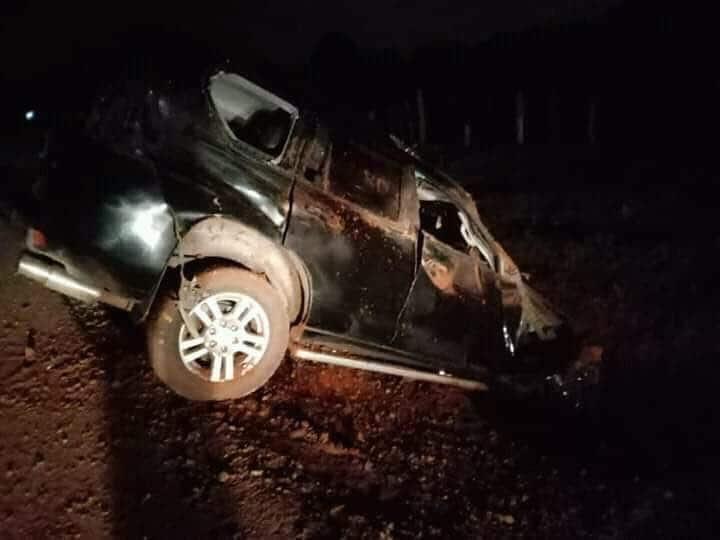 Samson Cherargei: Nandi senator involved in road accident
