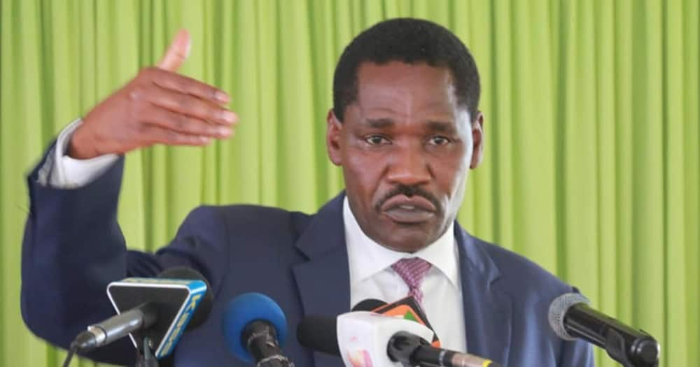 Peter Munya is the Cabinet Secretary for Agriculture.