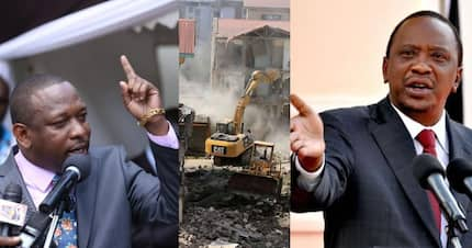 Husband to former president's daughter responsible for demolitions in Kayole - Mike Sonko