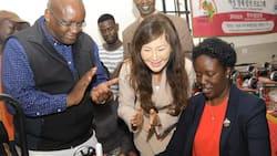 Kenyans celebrate revelation that Raila's daughter Rosemary can see again