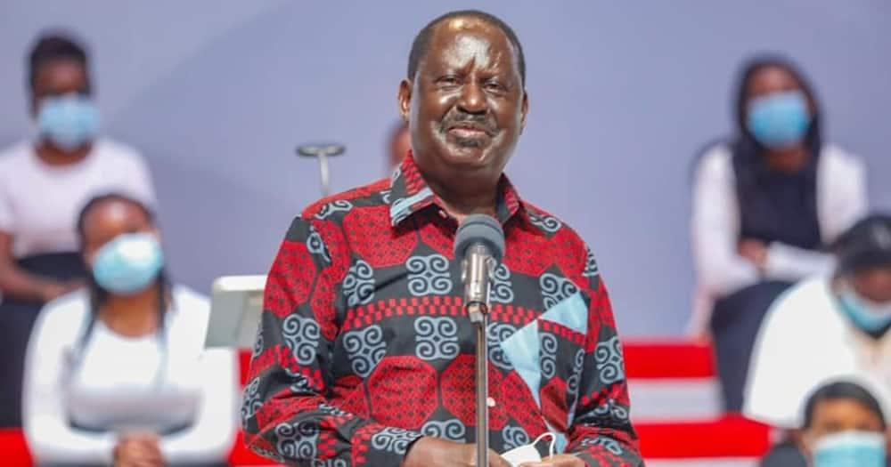 ODM party leader Raila Odinga. Photo: ODM Party.