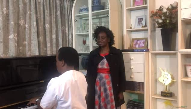 Mary Atieno, Reuben Kigame rekindle old sweet memories with joint performance