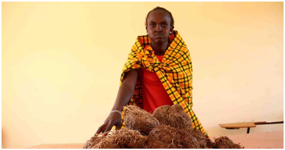 Narok Women Using Elephant Dung to Make Soap, Sanitisers