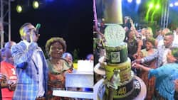 All eye-catching photos from Jose Chameleone's royal birthday party as he turns 40