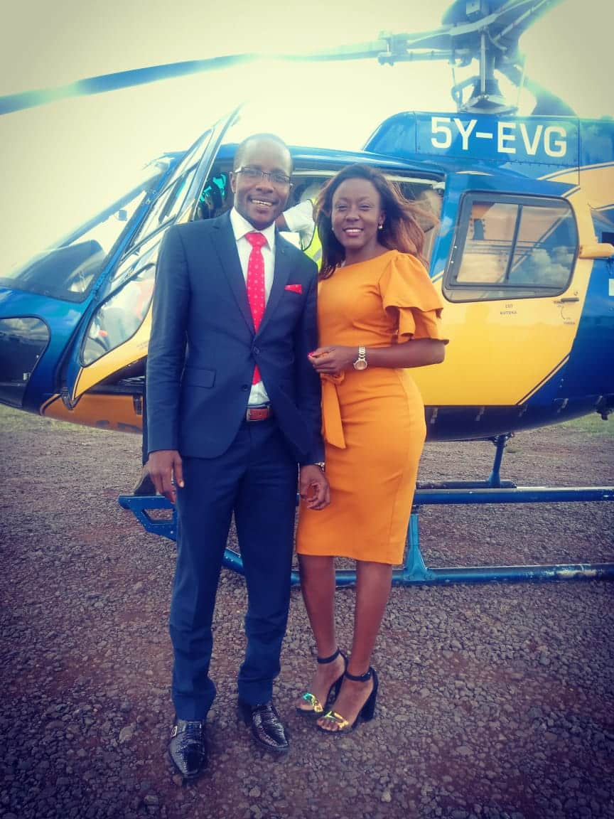 Bungoma's 'Aliko Dangote' finally lands radio girl to warm his bed