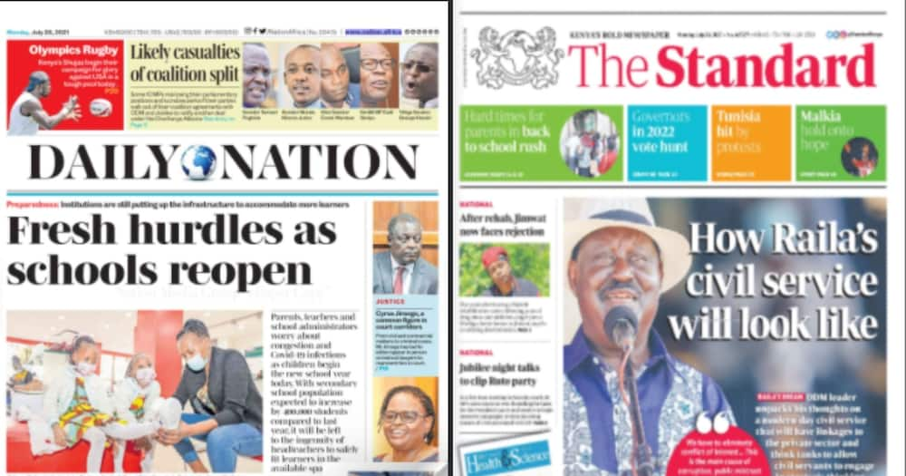 ODM leader Raila Odinga looks forward to redesigning the civil service once he succeeds President Uhuru Kenyatta.