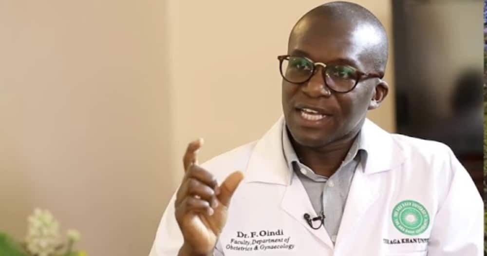 Dr Felix Oindi Consultant Obstetrician and Gynaecologist.
