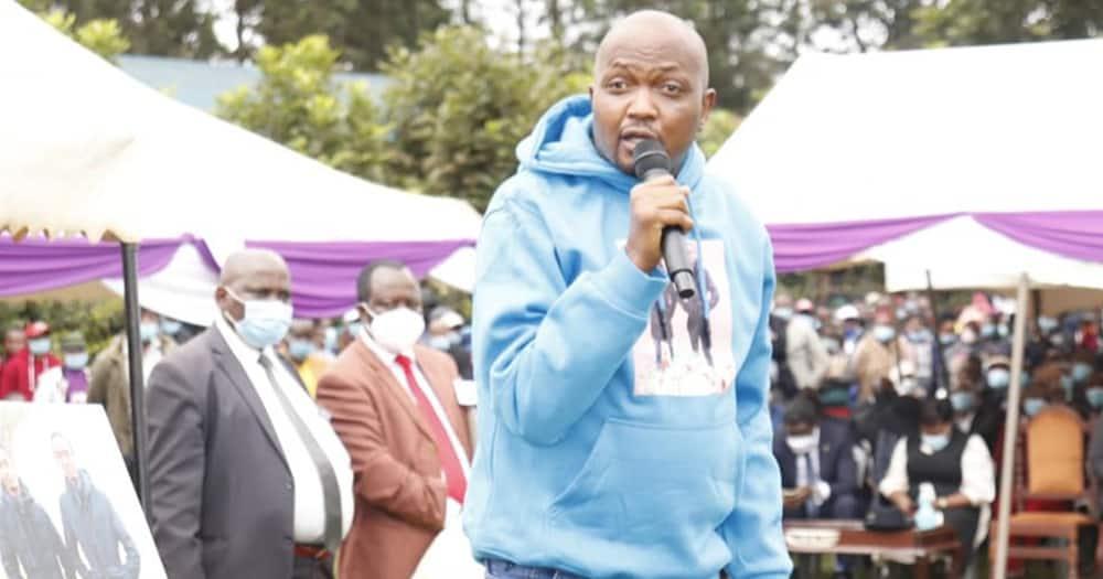 Gatundu South MP Moses Kuria. Photo: Moses Kuria.