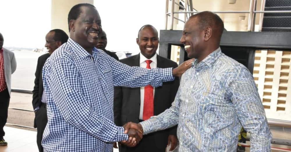 Raila says he could work with Ruto if circumstances conspire