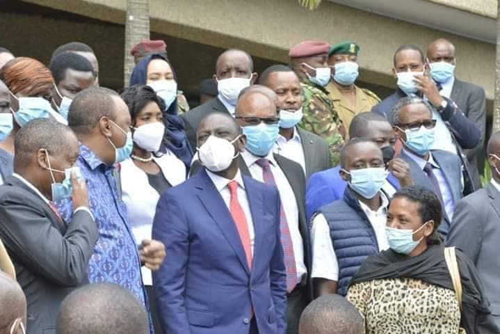 DP Ruto amtuliza Duale, amwambia mbele iko sawa