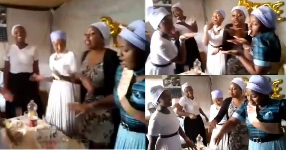 Kenyans Tickled by Akorino Ladies Dancing to Sukari Song During Bridal Shower