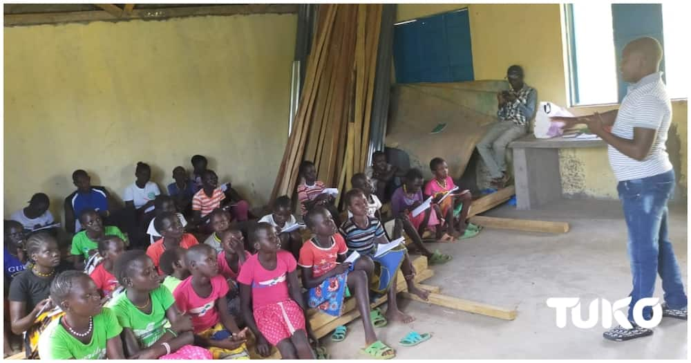 By starting the school and preaching against early marriages his mission was met with resistance. Photo: Ben Kerich