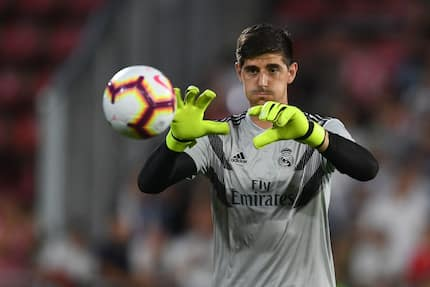 Real Madrid fans lash out at Courtois after conceding 3 goals against CSKA Moscow