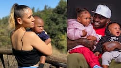 """Khaligraph Jones's Wife Georgina Celebrates Son's 1st Birthday in Lovely Posts: """"You are Perfect"""""""